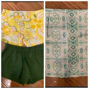 J. Crew Shorts and Mini Skirt Bundle Lot 0 00